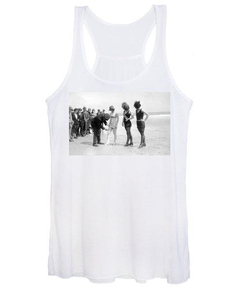 Bathing Suit Fashion Police Women's Tank Top