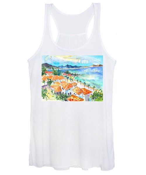 Bay Of Saint Martin Women's Tank Top