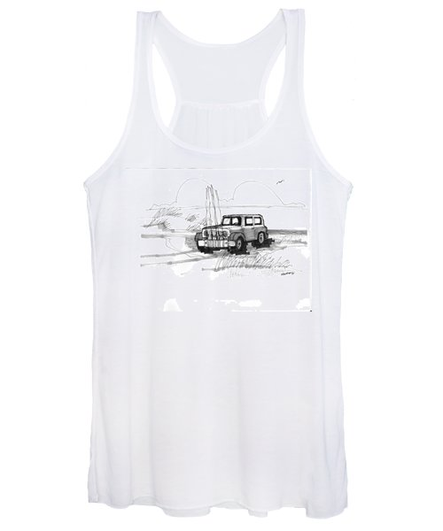 Beach Buggy Ocracoke 1970s Women's Tank Top