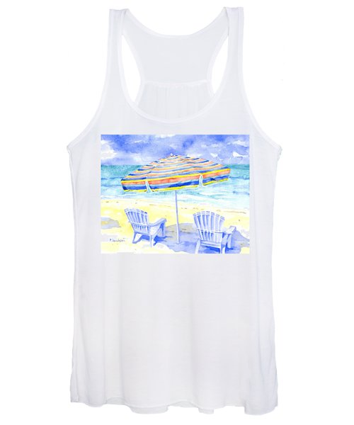 Beach Chairs Women's Tank Top