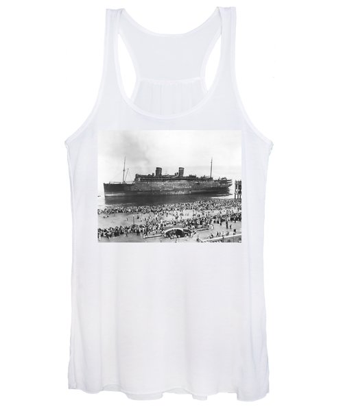 Beached Ss Morro Castle Women's Tank Top