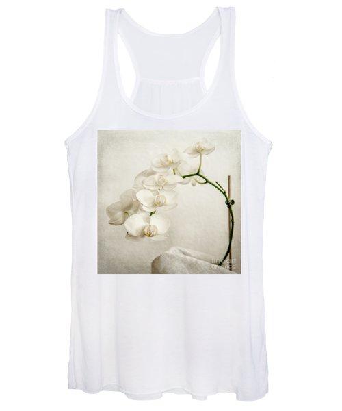 Beautiful White Orchid II Women's Tank Top