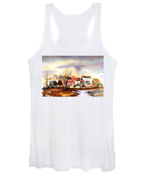Behind The Strand In New Castle Women's Tank Top