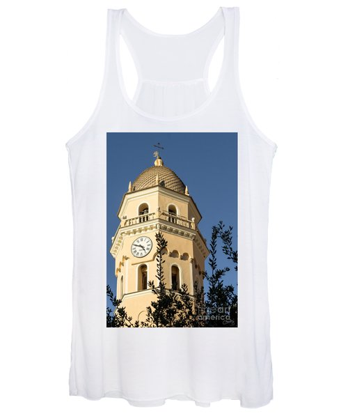 Bell Tower Of Vernazza Women's Tank Top