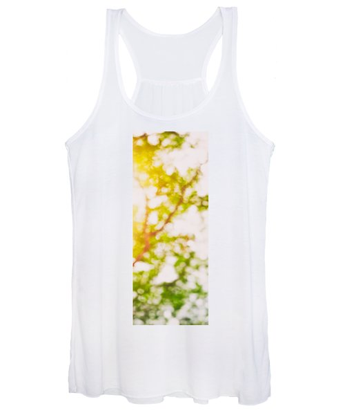 Beneath A Tree  14 5194  Diptych  Set 2 Of 2 Women's Tank Top