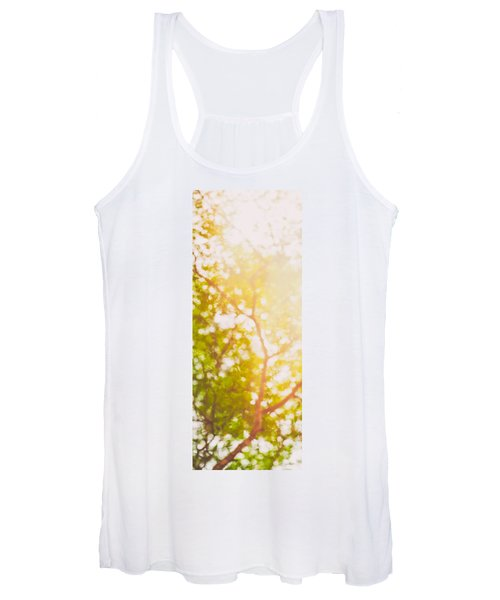 Beneath A Tree  14 5199   Diptych  Set 1 Of 2 Women's Tank Top