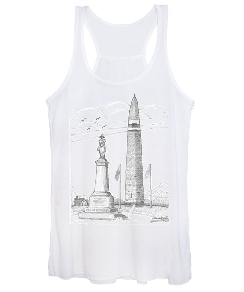 Bennington Battle Monuments Women's Tank Top