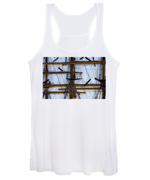 Between Masts And Ropes Women's Tank Top