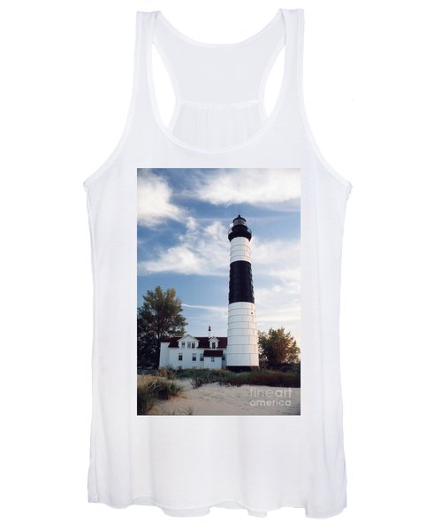 Big Sable Lighthouse Women's Tank Top