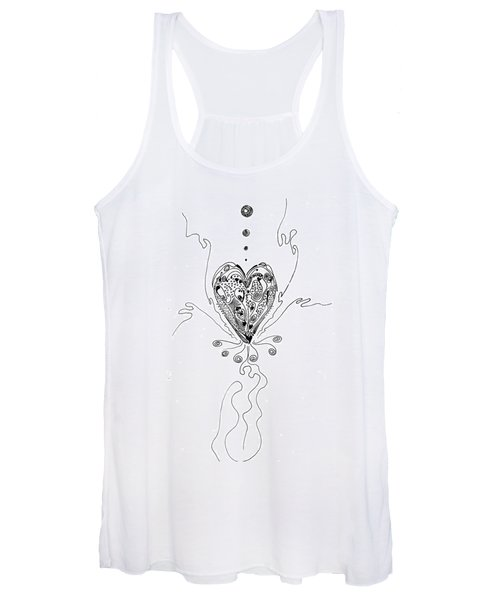 Blossoming Love Women's Tank Top