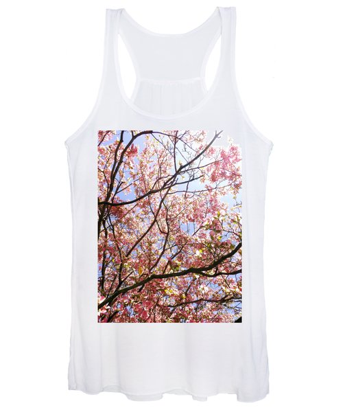 Blossoming Pink Women's Tank Top