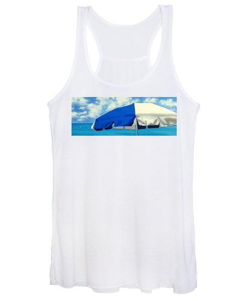 Blue Beach Umbrellas 1 Women's Tank Top