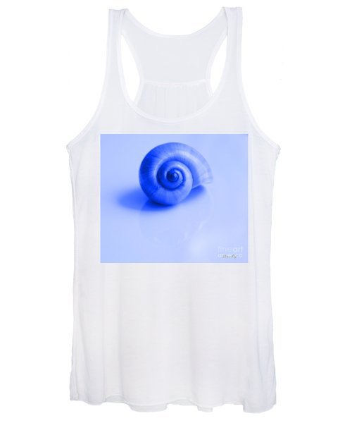 Blue Shell Women's Tank Top