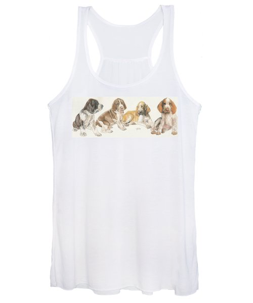 Bracco Italiano Puppies Women's Tank Top