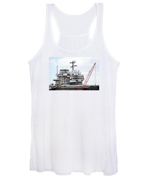 Uss Forrestal Bridge Women's Tank Top