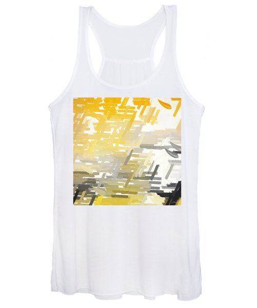 Bright Slashes Women's Tank Top