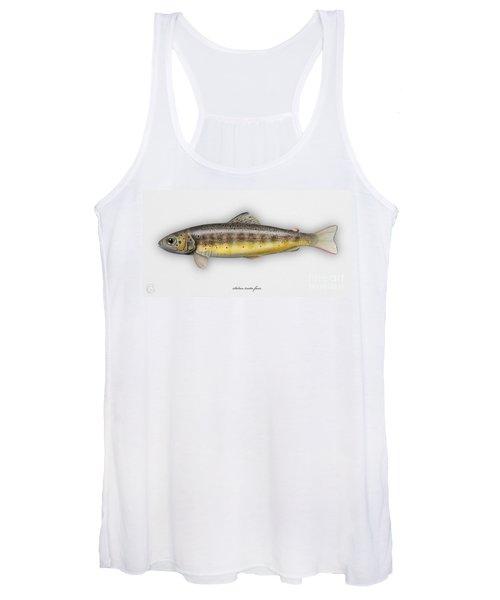 Brown Trout - Salmo Trutta Morpha Fario - Salmo Trutta Fario - Game Fish - Flyfishing Women's Tank Top