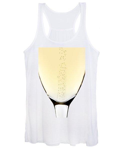 Bubbles In Champagne Women's Tank Top