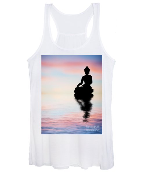 Buddha Reflection Women's Tank Top