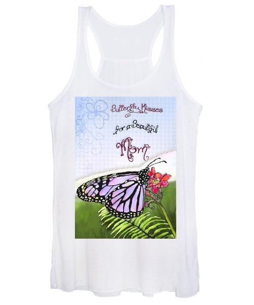 Butterfly Kisses Women's Tank Top
