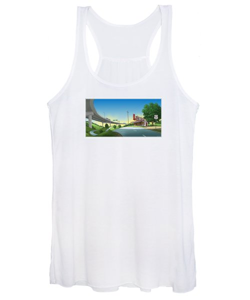 Bypassed Women's Tank Top