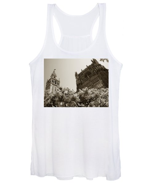Cathedral Of Seville Women's Tank Top