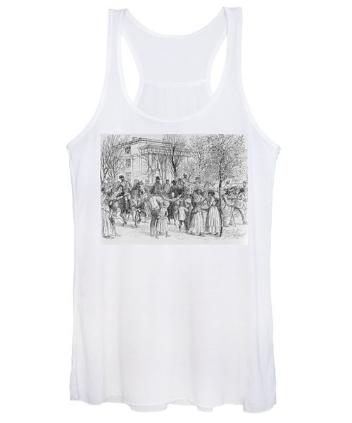 Central Part Of Taunton, Massachusetts, From Historical Collections Of Massachusetts, By John Women's Tank Top