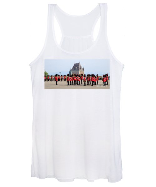 Changing Of The Guard The Citadel Quebec City Women's Tank Top