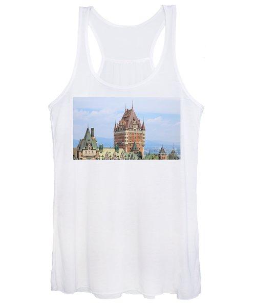 Chateau Frontenac Quebec City Canada Women's Tank Top