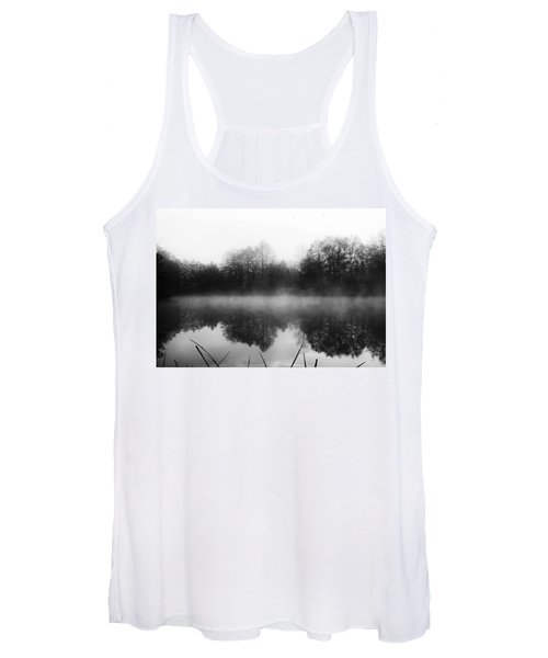 Chilly Morning Reflections Women's Tank Top