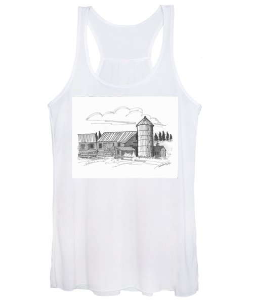 Clermont Barn 2 Women's Tank Top