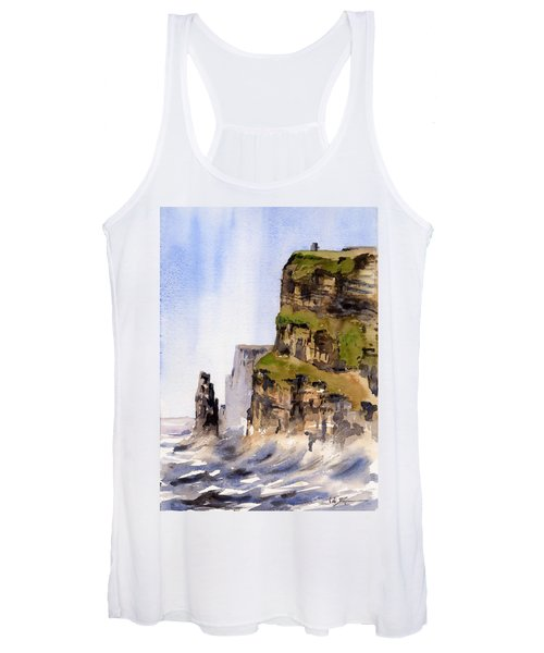Clare   The Cliffs Of Moher   Women's Tank Top