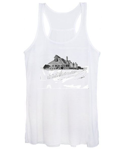 Coast Guard Station 1 Ocracoke 1970s Women's Tank Top