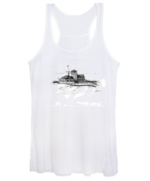 Coast Guard Station 2 Ocracoke 1970s Women's Tank Top