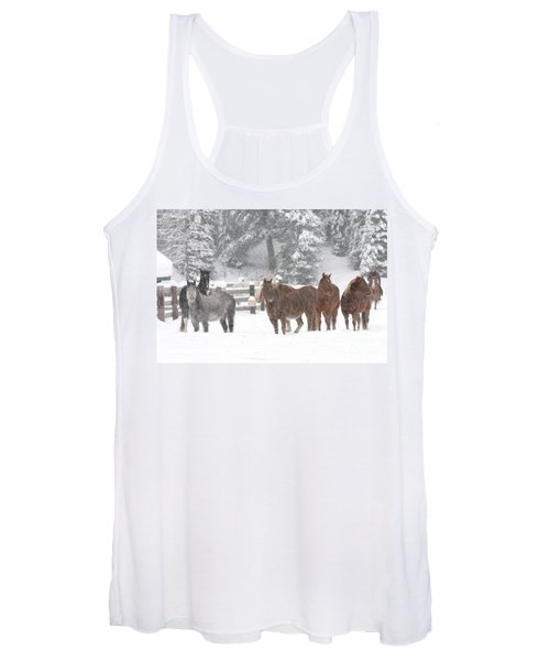 Cold Ponnies Women's Tank Top