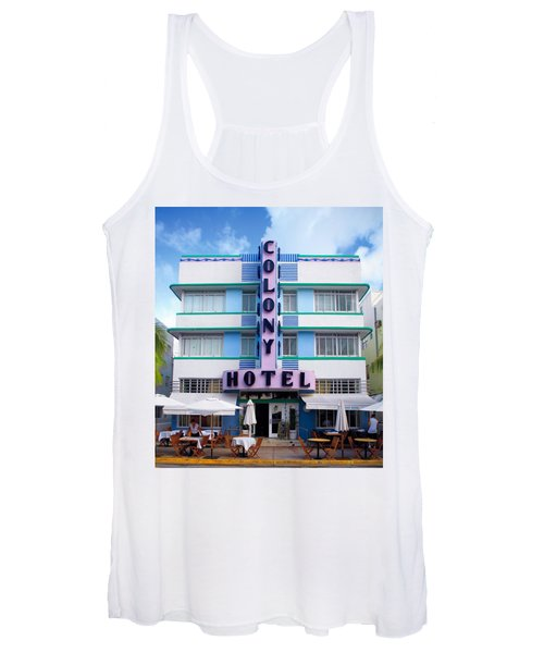 Colony Hotel Daytime Women's Tank Top