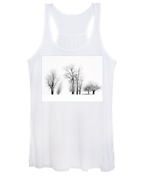 Frosted Trees 2 Women's Tank Top