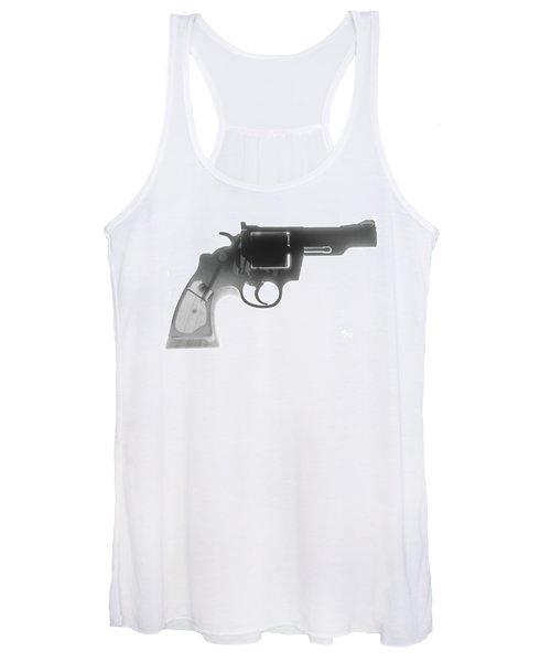 Colt 357 Magnum X Ray Photograph Women's Tank Top