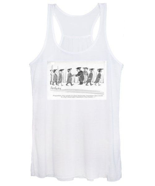 Congratulations. Please Remember The College's Women's Tank Top