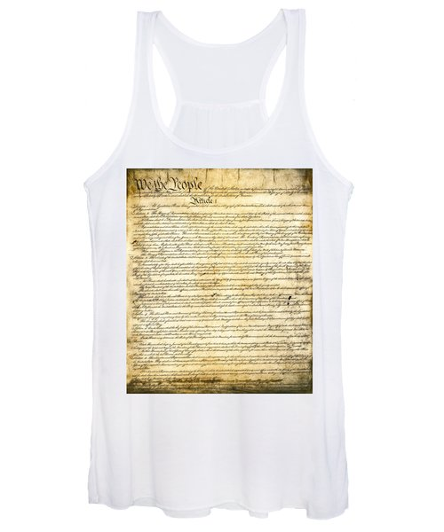 Constitution Of The United States Women's Tank Top