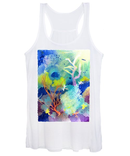 Coral Reef Dreams 1 Women's Tank Top