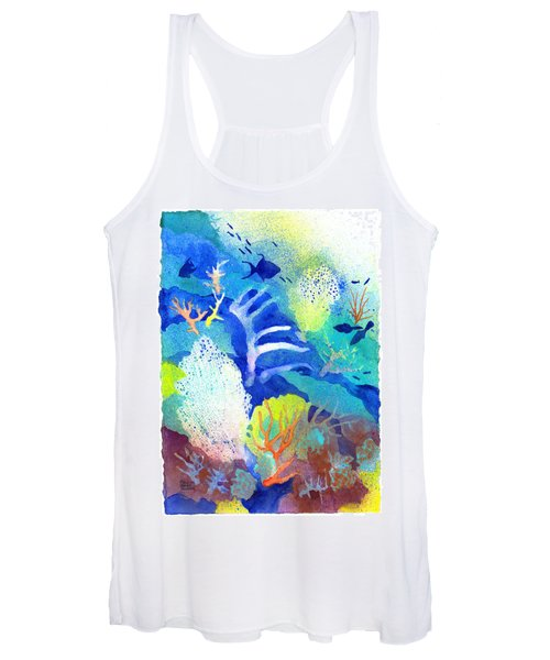 Coral Reef Dreams 3 Women's Tank Top