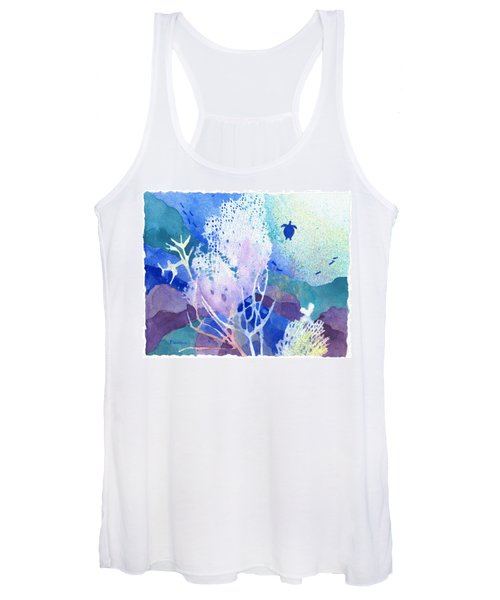 Coral Reef Dreams 5 Women's Tank Top