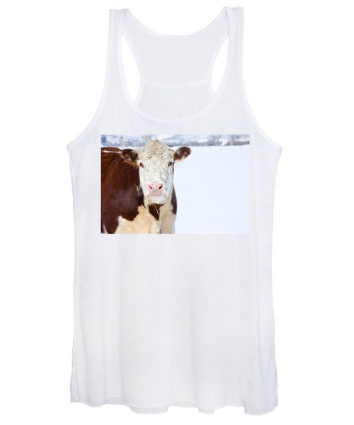 Cow - Fine Art Photography Print Women's Tank Top