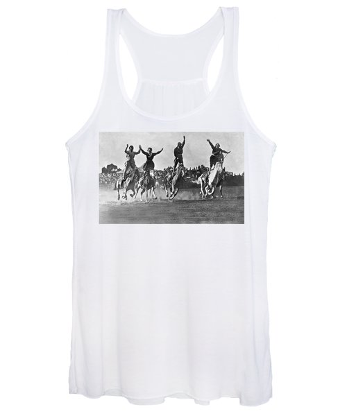 Cowgirls At The Rodeo Women's Tank Top