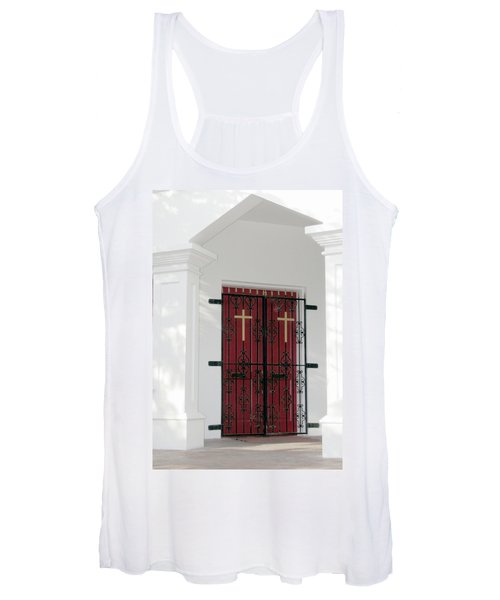 Key West Church Doors Women's Tank Top