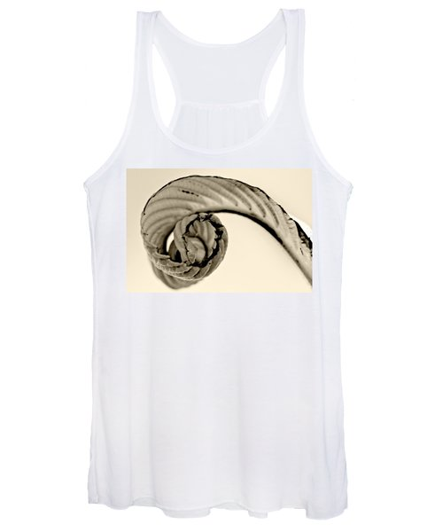 Curled Women's Tank Top