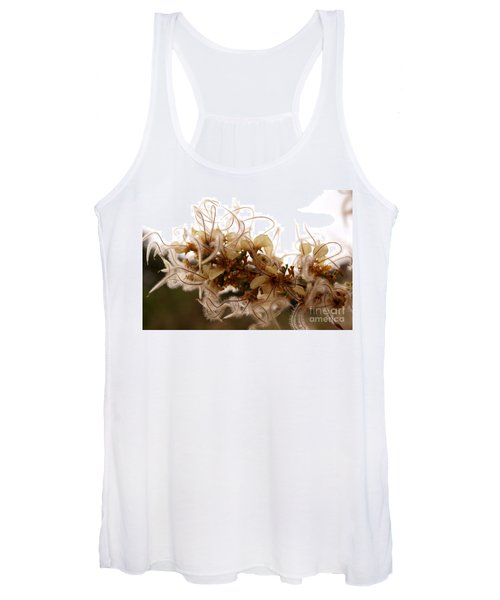 Curlleaf Mountain Mahogany Women's Tank Top