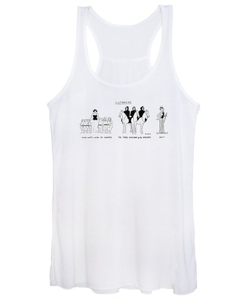 Cutbacks Women's Tank Top