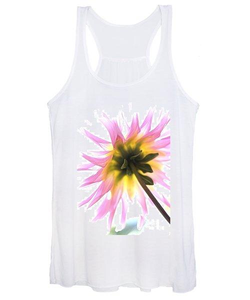 Dahlia Flower Women's Tank Top